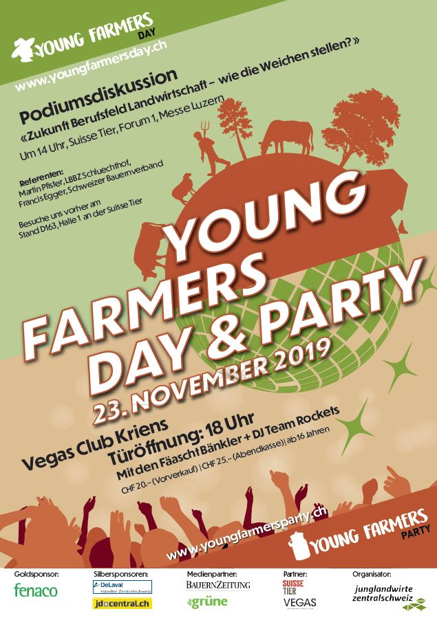 Young Farmer Day und Party